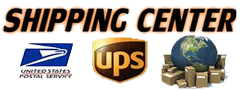 UPS Access point, USPS shipping center 7 days a week