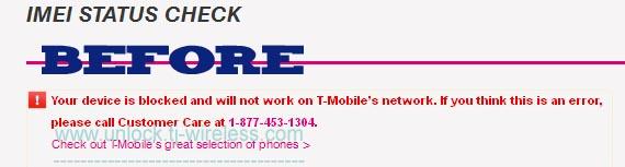 IMEI repair online - We Fix all Tmobile Blocked